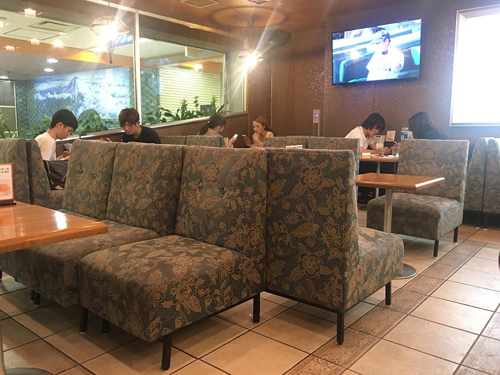 喫茶フジ 店内1 写真