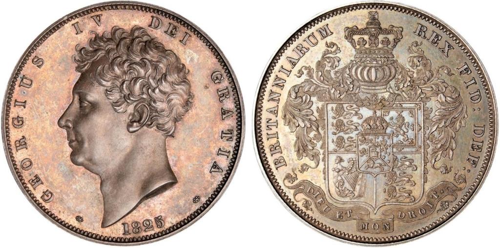 イギリス1825年ジョージ4世クラ...