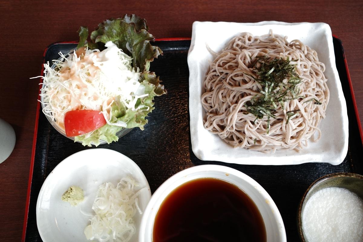 稲城・季乃彩・とろろ蕎麦