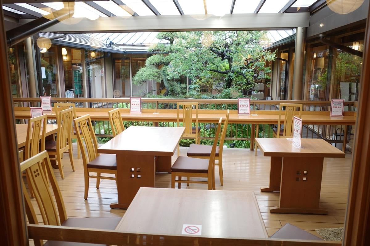 昭島 湯楽の里 お食事処