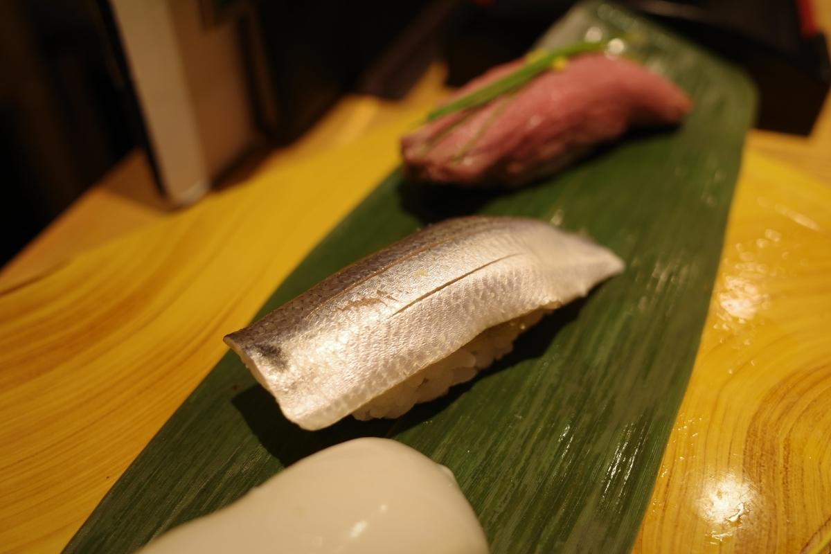 寿司の美登利・こはだ
