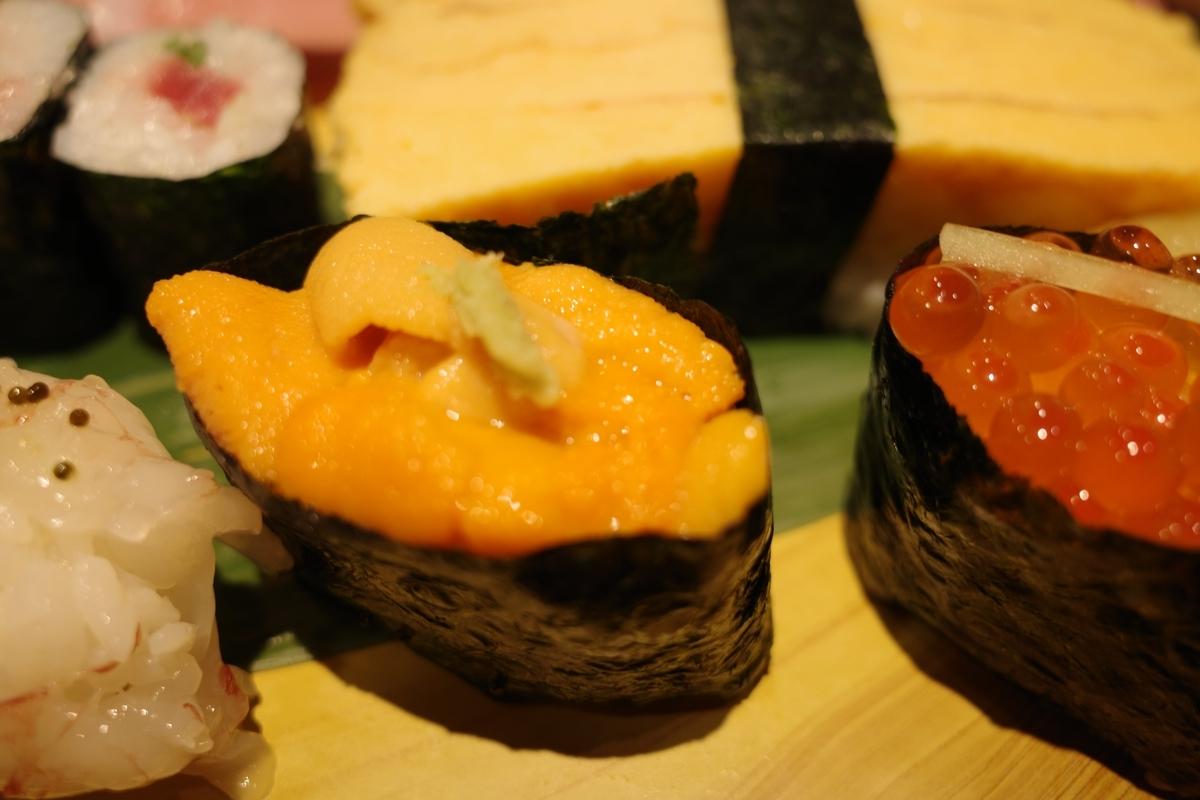 寿司の美登利・うに