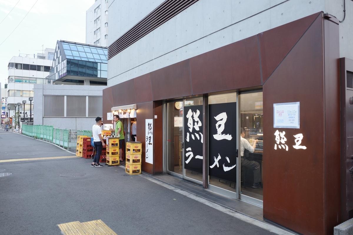 熊王・店舗外観