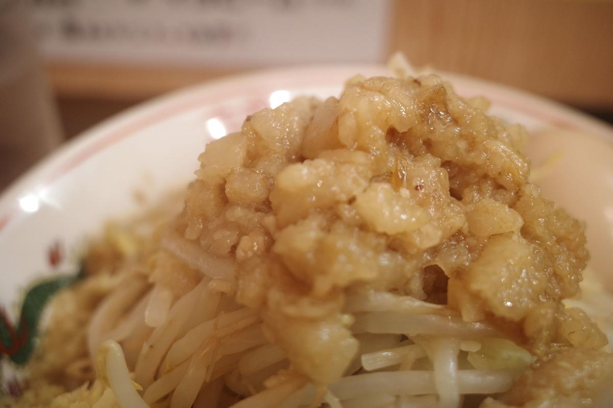 自家製麺 まさき 東中神 らーめん アブラ
