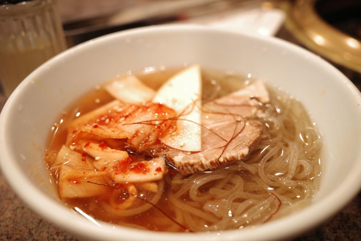 安楽亭 冷麺