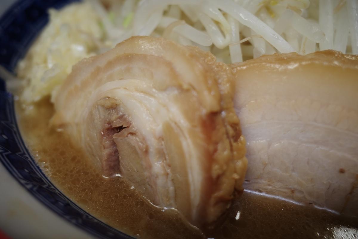 ラーメン二郎 桜台駅前店 小ラーメン 豚