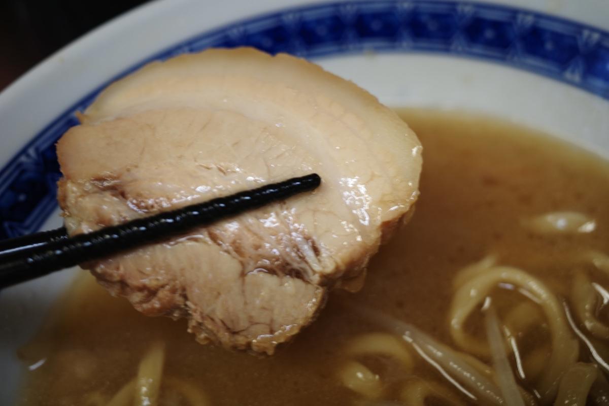 ラーメン二郎 桜台駅前店 小ラーメン スープ