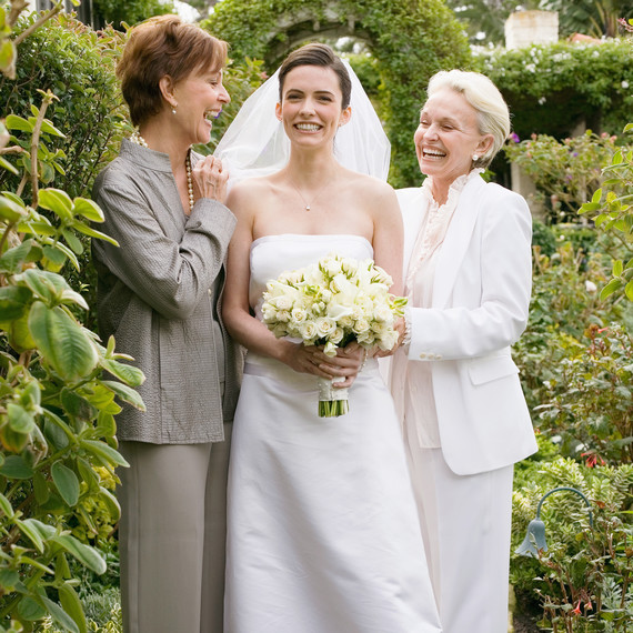 mères et mariée