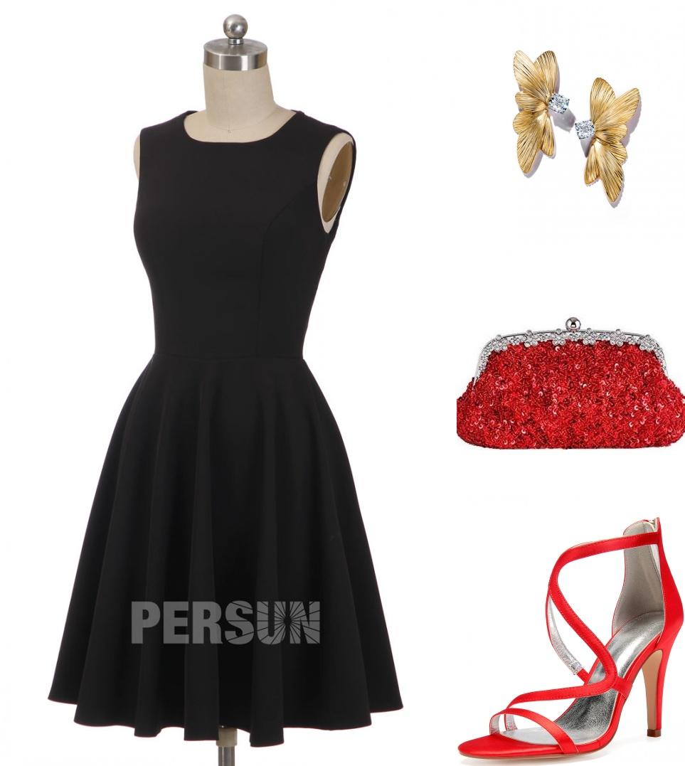 comment assortir petite robe noire pour un mariage