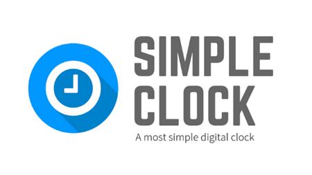 シンプルなデジタル時計ウェブアプリケーション
