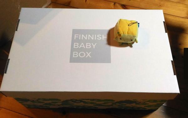 届いたばかりのFinnish Baby Box