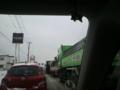 光星高校通りも大渋滞。R45までも出れないw