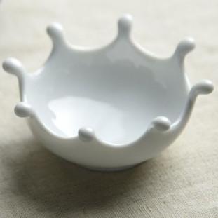 ミルククラウン 豆皿