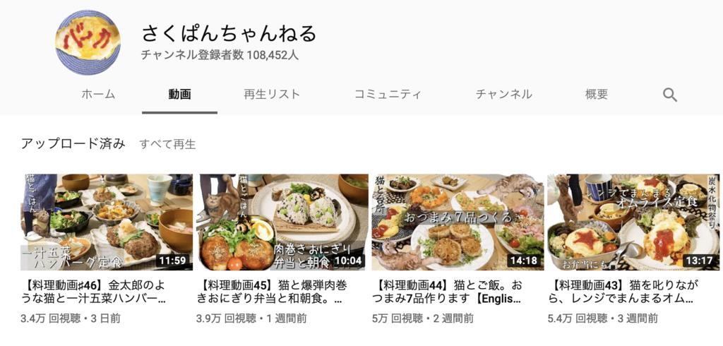 Youtube さく ぱん
