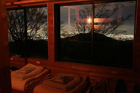 みやま山荘夜景