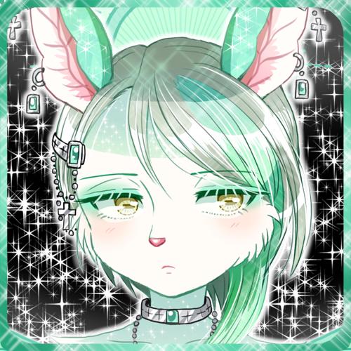 緑のメスケモ獣人ウマ娘