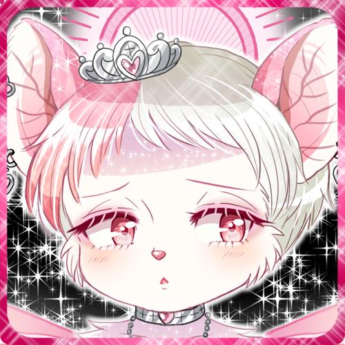 ピンクのケモロリ獣人コウモリ娘