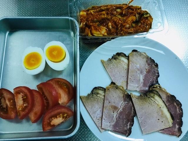 盛岡冷麺の具の写真