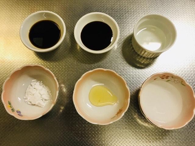 炒め用のタレの調味料