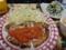 塩麹のささみカツのチーズトマトソース!!と、小松菜の白和え!!!