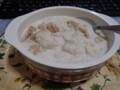 久々に鍋使ったと思ったらミルクパン粥を作ったのです。胃の調子のた