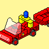 640 Fire Truck and Trailer