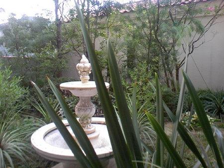 とあるマンションの庭