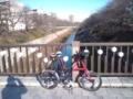 ようやく、マイチェン後の初自転車出勤。フロント2枚化の効果抜群。