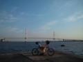 名古屋港までお散歩きたよ。