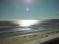 台風一過の津の海岸