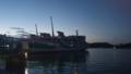 夕暮れの鳥羽港