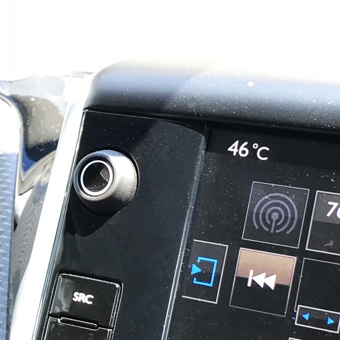 車の液晶画面