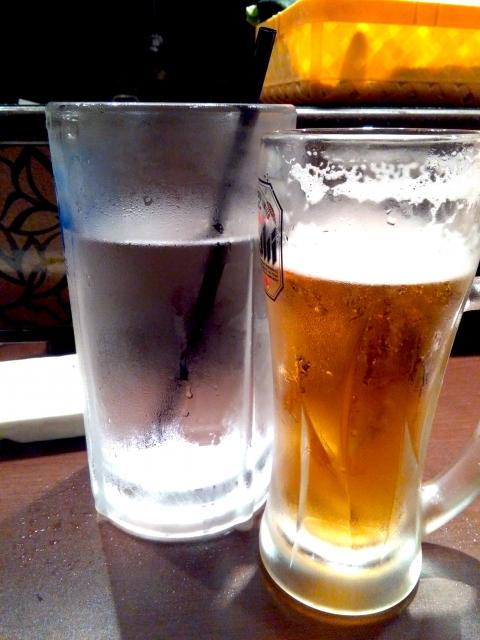 ビールとチェイサー