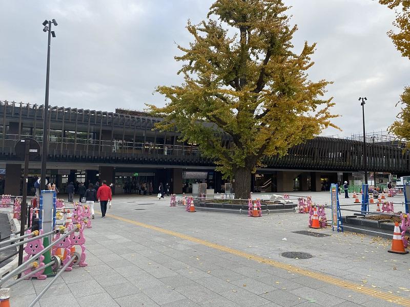 上野駅「公園口改札」