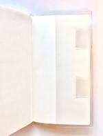 ファンケル花の手帳のペンホルダー