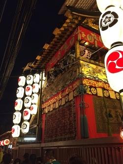 祇園祭 宵山 岩戸山の鉾