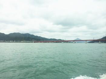 若狭富士 青葉山 青戸クルージング 船から見る景色