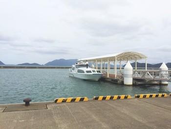 青戸クルージング 観光船 うみんぴあ大飯観光船ターミナル