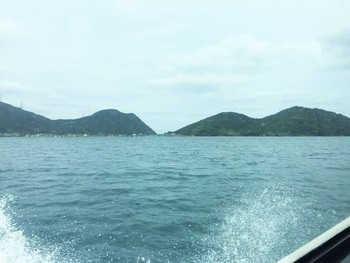 青戸クルージング 海の風景写真