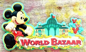 ディズニーお土産 ミッキーマウスのマグネット