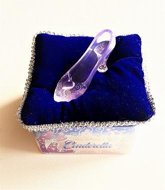シンデレラモチーフ ガラスの靴の缶