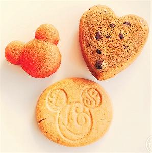 ディズニーお土産のフィナンシェとマドレーヌ、クッキー