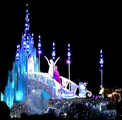 エレクトリカルパレード アナと雪の女王