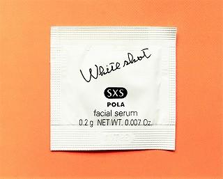 POLA(ポーラ)の美白美容液 ホワイトショットSXSのサンプル