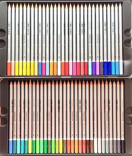 ステッドラーの水彩色鉛筆 60色全色