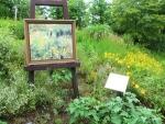 ガーデンミュージアム比叡 花と陶板名画の風景