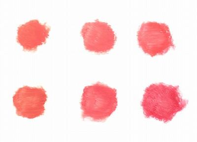 オルビス ルージュネス 6色全色の色味見本