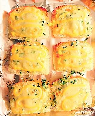 「お米で作った しかくいパン」で作ったピザトースト