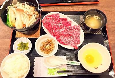 忠太郎 近江牛すき焼き膳のメニュー