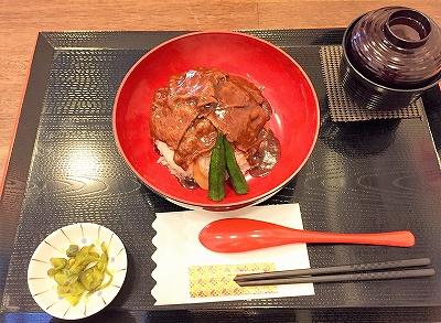 忠太郎のメニュー 牛丼(近江牛肉)